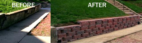 Great Retaining Walls In Omaha Nebraska Yard Care